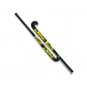 Dita hockeysticks - Hockeysticks -  kopen - Dita FiberTec C45 Low Bow Yellow