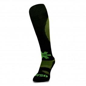Fantasy Socks - Hockeysokken - Osaka hockey -  kopen - Osaka Sox Black / Yellow Melange | Hockeykousen