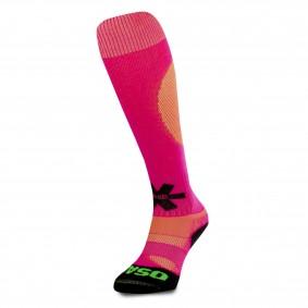 Fantasy Socks - Hockeysokken - Osaka hockey -  kopen - Osaka Sox Pink / Yellow Melange | Hockeykousen