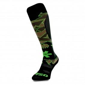 Fantasy Socks - Hockeysokken - Osaka hockey -  kopen - Osaka Sox Desert Camo / Green | Hockeykousen