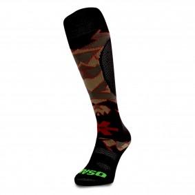Fantasy Socks - Hockeysokken - Osaka hockey -  kopen - Osaka Sox Desert Camo / Red | Hockeykousen