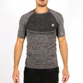 Hockey t-shirts - Hockeykleding - Osaka kleding -  kopen - Osaka Tech Knit Short Sleeve Tee Men – Black Melange
