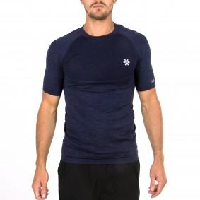 Hockey t-shirts - Hockeykleding - Osaka kleding -  kopen - Osaka Tech Knit Short Sleeve Tee Men – Navy Melange