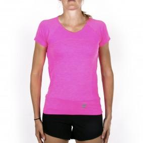 Hockey t-shirts - Hockeykleding - Osaka kleding -  kopen - Osaka Tech Knit Short Sleeve Tee Women – Pink Melange
