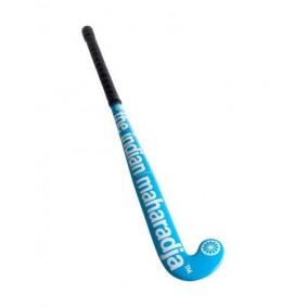 Goedkope hockeysticks - outlet - Hockeysticks - Indian Maharadja - Indian Maharadja Brandshop - Pre order - The Indian Maharadja zaalhockeysticks - Zaalhockeysticks -  kopen - Indian Maharadja Indoor Gravity Pro Blue Junior Zaalhockeystick ACTIE