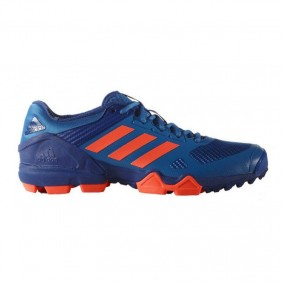 Adidas Brandshop - Adidas hockeyschoenen - Hockey outlet - Hockeyschoenen - Hockeyschoenen sale / outlet - Senior hockeyschoenen -  kopen - Adidas AdiPower III Blue Orange 2017 Edition | 25% DISCOUNT DEALS