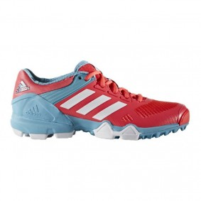 Adidas Brandshop - Adidas hockeyschoenen - Hockey outlet - Hockeyschoenen - Hockeyschoenen sale / outlet - Senior hockeyschoenen -  kopen - Adidas AdiPower III Pink Light Blue 2017 Edition | 25% DISCOUNT DEALS