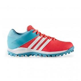 Adidas Brandshop - Adidas hockeyschoenen - Hockeyschoenen - Senior hockeyschoenen -  kopen - Adidas SRS.4 Pink-Light Blue