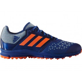 Adidas Brandshop - Adidas hockeyschoenen - Hockey outlet - Hockeyschoenen - Hockeyschoenen sale / outlet - Senior hockeyschoenen -  kopen - Adidas Zone Dox Blue-Orange | 25% DISCOUNT DEALS