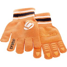 Hockeyhandschoenen - Protectie - Winterhandschoenen -  kopen - Brabo winterglove Junior size oranje ACTIE