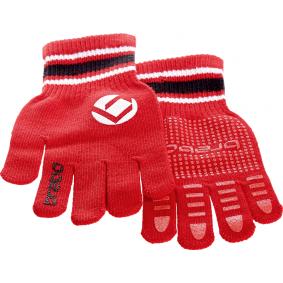 Hockeyhandschoenen - Protectie - Winterhandschoenen -  kopen - Brabo winterglove TEENsize rood ACTIE