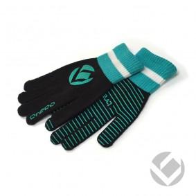 Hockeyhandschoenen - Protectie - Winterhandschoenen -  kopen - Brabo Winterglove Extra Grip Black/Azur