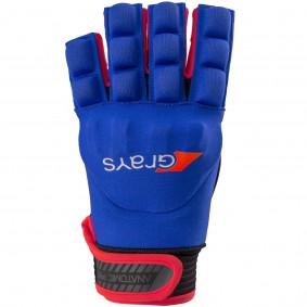 Hockeyhandschoenen - Protectie - kopen - Grays Anatomic Pro Glove Links Navy/Rood (Pre-order leverbaar vanaf half Juli 2017)