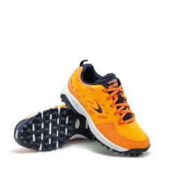 Dita hockeyschoenen - Hockeyschoenen - Junior hockeyschoenen -  kopen - Dita STBL 100 Orange / Navy Junior hockeyschoenen
