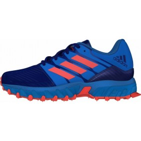 Adidas Brandshop - Adidas hockeyschoenen - Hockey outlet - Hockeyschoenen - Hockeyschoenen sale / outlet - Junior hockeyschoenen -  kopen - Adidas Hockey Lux Junior Blue-Orange | 25% DISCOUNT DEALS