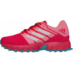 Adidas Brandshop - Adidas hockeyschoenen - Hockey outlet - Hockeyschoenen - Hockeyschoenen sale / outlet - Junior hockeyschoenen -  kopen - Adidas Hockey Lux Junior Pink-Light Blue | 25% DISCOUNT DEALS
