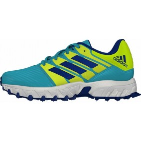 Adidas Brandshop - Adidas hockeyschoenen - Hockey outlet - Hockeyschoenen - Hockeyschoenen sale / outlet - Junior hockeyschoenen -  kopen - Adidas Hockey Lux Junior Yellow-Light Blue | 25% DISCOUNT DEALS