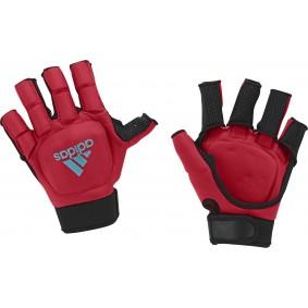 Adidas Brandshop - Hockeyhandschoenen - Protectie - kopen - Adidas HKY OD Glove Red/Blue | Direct leverbaar!