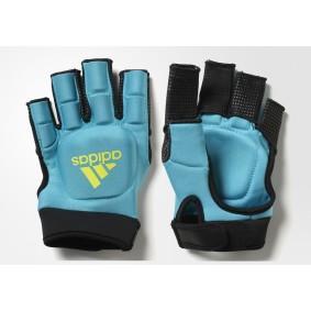 Adidas Brandshop - Hockeyhandschoenen - Protectie -  kopen - Adidas HKY OD Glove Blue/Yellow | Direct leverbaar!