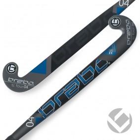 Brabo - Hockeysticks - Junior sticks - Zaalhockeysticks -  kopen - Brabo IT TC-4 White / Blue Junior Zaalhockeystick