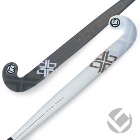 Brabo - Hockeysticks - kopen - Brabo Heritage 40 White / Black | Pre order levering juli 2017!