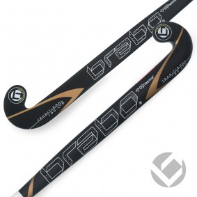 Brabo - Hockeysticks -  kopen - Brabo Traditional Carbon 100 LTD Dyneema Dragflick