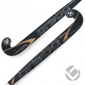 Brabo - Hockeysticks -  kopen - Brabo Traditional Carbon 100 LTD Dyneema Low Bow