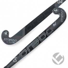 Brabo - Hockeysticks -  kopen - Brabo Tribute TC-4.24 Black / White