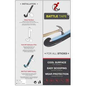 Cadeaus en gadgets - Hockey tape - kopen - Hockeygear.eu Battle Tape Black