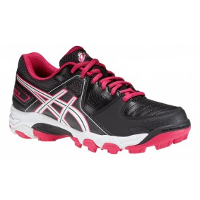 Asics hockeyschoenen - Hockey outlet - Hockeyschoenen - Hockeyschoenen sale / outlet - Junior hockeyschoenen -  kopen - Asics Gel-Blackheath 5 GS Junior Zwart/Rose (Aktie)