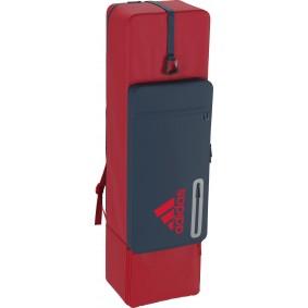 Adidas Brandshop - Hockeytassen - Sticktassen -  kopen - Adidas HY Kit Bag Red/Blue   Direct leverbaar!
