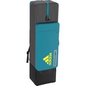 Adidas Brandshop - Hockeytassen - Sticktassen -  kopen - Adidas HY Kit Bag Blue/Yellow   Direct leverbaar!