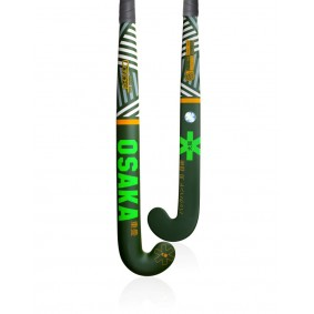 Hockeysticks - Osaka - Osaka hockey -  kopen - Osaka CONCEPT SERIES RAZZLE DAZZLE GREEN LOW BOW