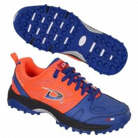 Dita hockeyschoenen - Hockey outlet - Hockeyschoenen - Hockeyschoenen sale / outlet - Junior hockeyschoenen -  kopen - Dita Callisto oranje/blauw (Aktie)