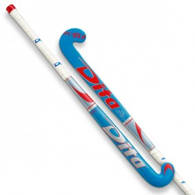 Dita hockeysticks - Hockeysticks - Junior sticks -  kopen - Dita FX R10 Junior blauwzilver rood