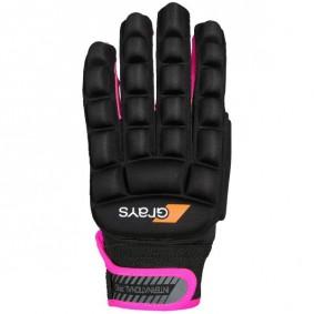 Hockeyhandschoenen - Protectie -  kopen - Grays International Pro Glove Neonroze Links