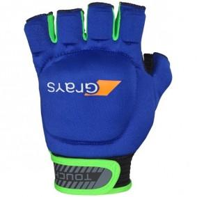 Hockeyhandschoenen - Protectie - kopen - Grays Touch Glove Links Blauw/Groen