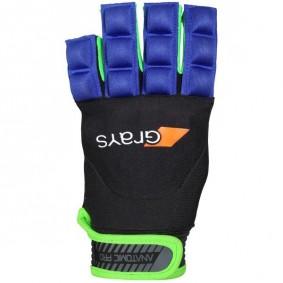 Hockeyhandschoenen - Protectie -  kopen - Grays Anatomic Pro Glove Links Blauw/Groen