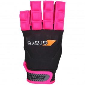 Hockeyhandschoenen - Protectie -  kopen - Grays Anatomic Pro Glove Links Neonroze