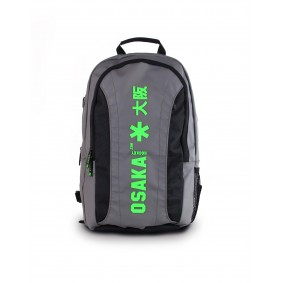 Brandshops - Hockeytassen - Osaka hockey - Rugzakken - kopen - Osaka SENIOR LARGE BACKPACK – GUN METAL / GREEN