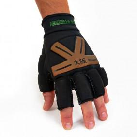 Brandshops - Hockeyhandschoenen - Osaka hockey - Protectie - kopen - Osaka Armadillo Glove Black/Gold ACTIE