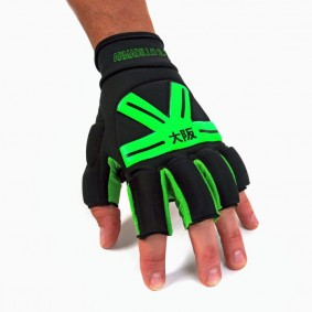 Brandshops - Hockeyhandschoenen - Osaka hockey - Protectie - kopen - Osaka Armadillo Glove Black/Green