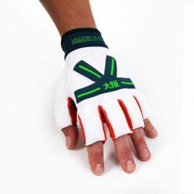 Brandshops - Hockeyhandschoenen - Osaka hockey - Protectie -  kopen - Osaka Armadillo Glove White/Orange/Navy ACTIE