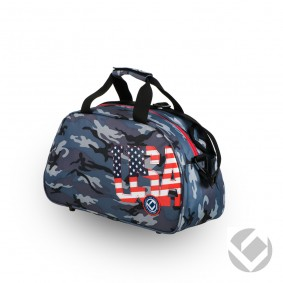 Hockeytassen - Shoulderbags - kopen - Brabo Shoulderbag Camo USA | Pre order! Levering begin juli!