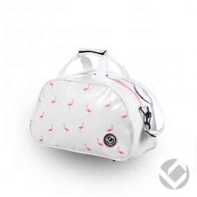 Hockeytassen - Shoulderbags - kopen - Brabo Shoulderbag Flamingo Cream/Pink | Pre order! Levering begin juli!