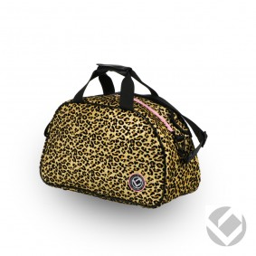 Hockeytassen - Shoulderbags - kopen - Brabo Shoulderbag Glitter Cheetah | Pre order! Levering begin juli!