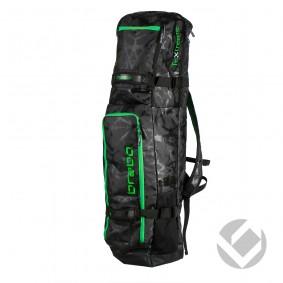 Hockeytassen - Sticktassen -  kopen - Brabo Stickbag TeXtreme Black/Lime