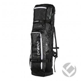 Hockeytassen - Sticktassen -  kopen - Brabo Stickbag TeXtreme Black/White