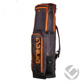 Hockeytassen - Sticktassen -  kopen - Brabo Stickbag Traditional Black/Orange