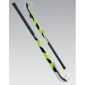 Goedkope hockeysticks - outlet - Hockeysticks - Junior sticks - TK -  kopen - TK Synergy S Junior Late Bow Zwart Lime | 40% DISCOUNT DEALS